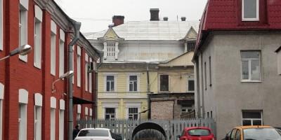 Жилое и конторское здание альбомной фабрики на улице Моисеенко