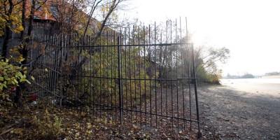 Екатерингофка, забор