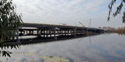 Колпино, мост через Ижорский пруд