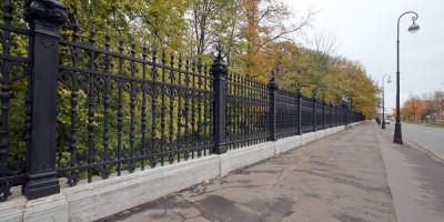 Кронштадт, ограда Летнего сада