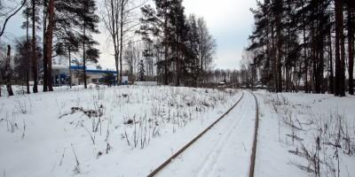 Парголово, железная дорога
