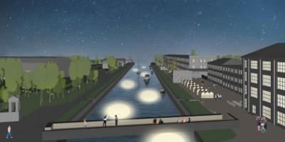 Пешеходная набережная Шкиперского канала