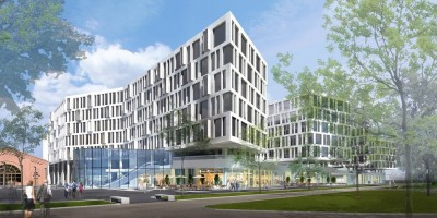 Проект бизнес-центра на Лиговском проспекте, San Gally Park