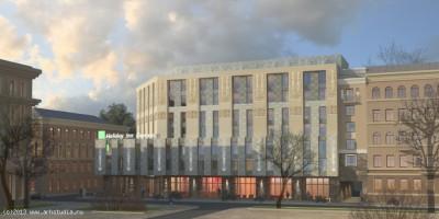Проект гостиницы на улице Александра Невского