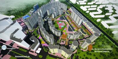 Проект жилого комплекса на Коломяжском проспекте