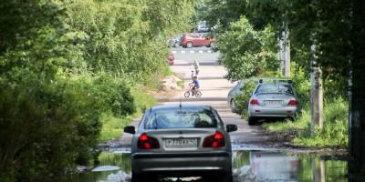 Сестрорецк, Тарховская улица, потоп