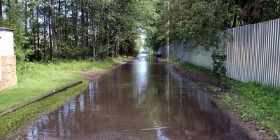 Сестрорецк, Тарховская улица, затопило