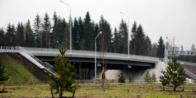 Скандинавское шоссе, путепровод на улице Танкистов