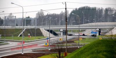 Трасса Скандинавия, развязка с Выборгским шоссе