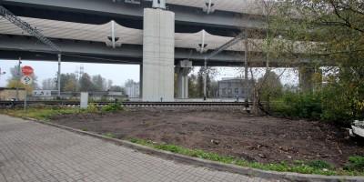 Улица Калинина, после сноса поста охраны переезда