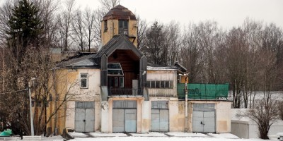 Вязовая улица, дом 4, литера А, здание Санкт-Петербургского гребного общества