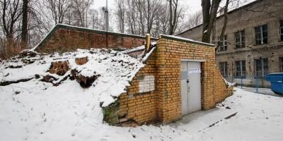 Институтский переулок, 5, погреб-ледник