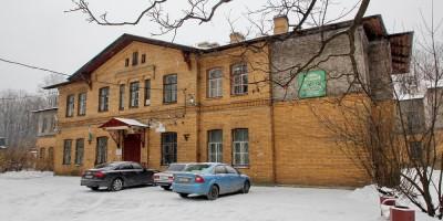 Институтский переулок, дом 5, главный корпус приюта-лечебницы Евреиновой