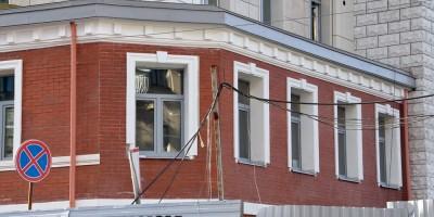Ждановская улица, 10, воссозданный фасад