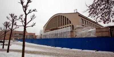 Бассейн на Литовской улице, ремонт