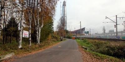 Лахта-центр, Шуваловский проспект