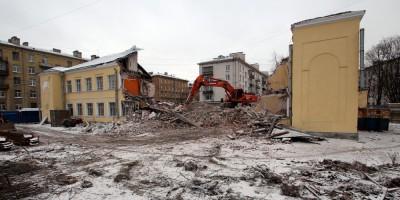 Малый проспект Васильевского острова, 63, снос детского сада