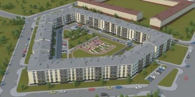 Пулковское, жилой дом на Переведенской улице