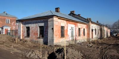 Пушкин, Ферма, восточный флигель, до ремонта