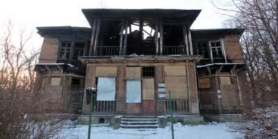 Пушкин, Павловское шоссе, 6, дом Ростовцевой, задний фасад