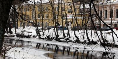 Река Смоленка, берег