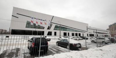 Российский проспект, 6, ледовый дворец СКА