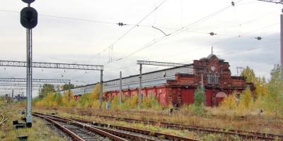 Сарай для императорских поездов Варшавского вокзала