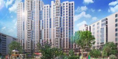 Шушары, проект жилого комплекса, фасады