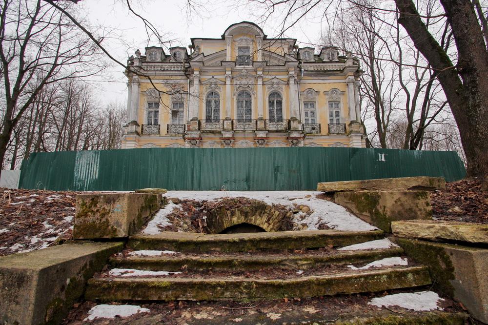 Собственная дача, дворец с лестницы