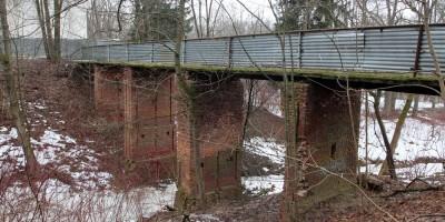 Собственная дача, мост над безымянным ручьем