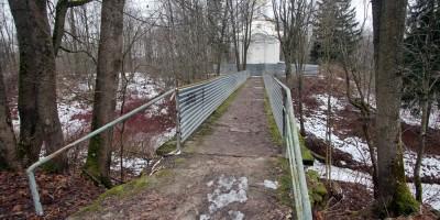 Собственная дача, мост над ручьем