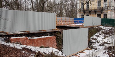 Собственная дача, мост-терраса