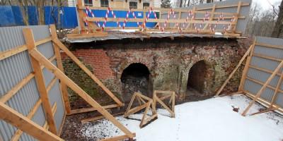 Собственная дача, мост-терраса, реставрация
