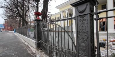 Свердловская набережная, 22, дача Дурново, ограда