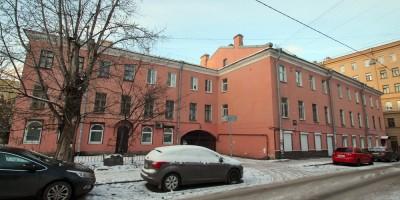 Улица Константина Заслонова, 4, фасад вдоль улицы Печатника Григорьева