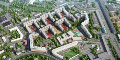 Жилой комплекс на месте завода Ильич