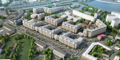 Жилой комплекс на месте завода Ильич, Белоостровская улица