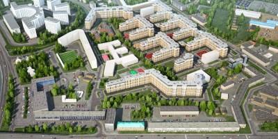 Жилой комплекс на месте завода Ильич, Красногвардейский переулок