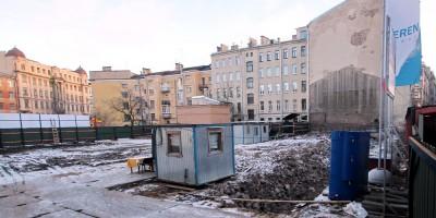 10-я Советская улица, 8, стройплощадка