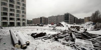 Царская столица, строительный мусор