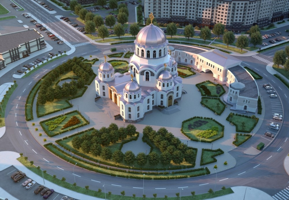 Церковь на Полоцкой улице