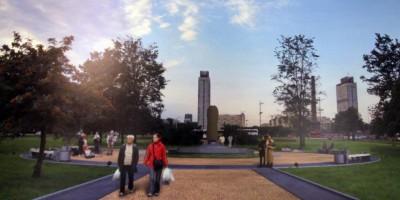 Единый крест у площади Победы, памятник