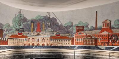 Елизаровская, мозаика
