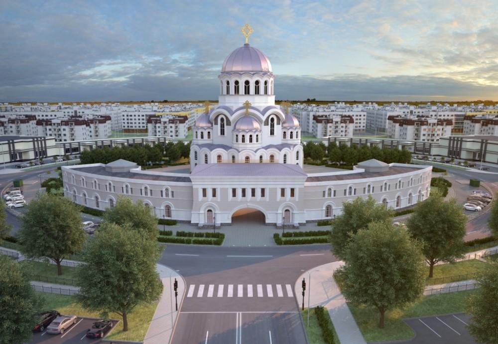 Храм в Славянке