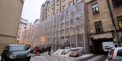 Каменноостровский проспект, 26-28, котельная, реконструкция