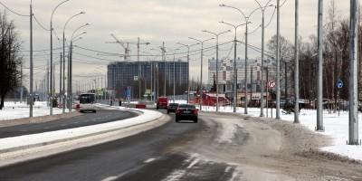 Колпино, Заводской проспект после реконструкции