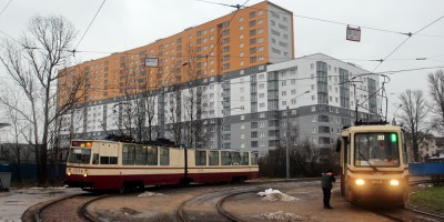 Ковалевская улица, 26, трамвайное кольцо