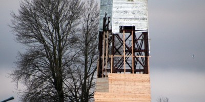 Кронштадт, маяк, ремонт