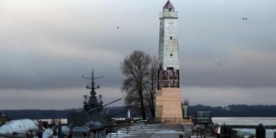 Кронштадт, маяк, Усть-Рогатка