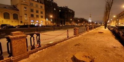 Набережная Крюкова канала, решетка